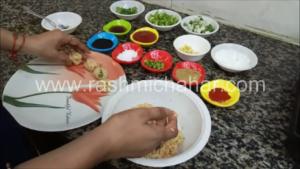 Cabbage veg manchurian